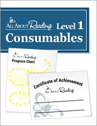 All About Reading Level 1 Consumables