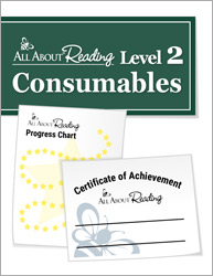 All About Reading Level 2 Consumables