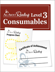 All About Reading Level 3 Consumables