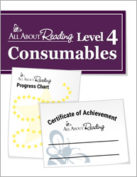 All About Reading Level 4 Consumables