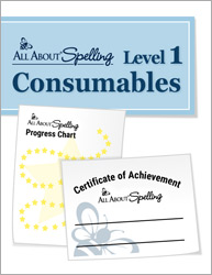All About Spelling Level 1 Consumables
