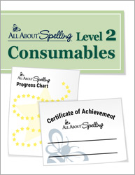 All About Spelling Level 2 Consumables