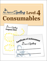 All About Spelling Level 4 Consumables