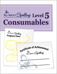 All About Spelling Level 5 Consumables
