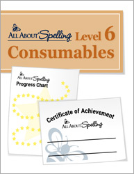 All About Spelling Level 6 Consumables