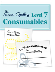 All About Spelling Level 7 Consumables