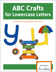 ABC Crafts for Lowercase Letters