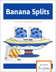 Banana Splits Compounds Words Game