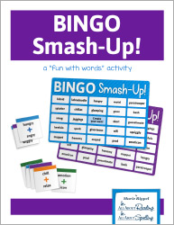 Bingo Smash-up Portmanteau Game