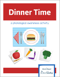 Dinner Time Phonological Awareness Game
