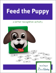 Feed the Puppy Alphabet Game