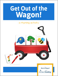 Get Out of the Wagon Rhyming Game