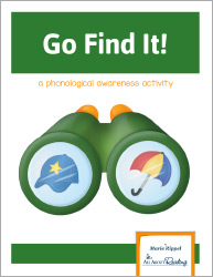 Go Find It Phonological Awareness Game