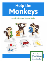 Help the Monkeys Counting Syllables Game