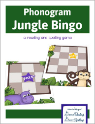 Phonogram Jungle Bingo