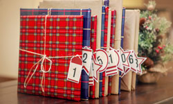 How to Create a Christmas Book Advent Calendar
