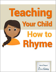 Teaching Your Child How to Rhyme