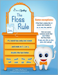 The Floss Rule for Spelling