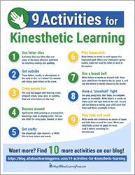 9 Activities for Kinesthetic Learning