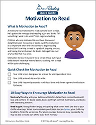 Motivtaion to Read