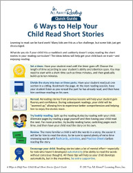 6 Ways to Help Your Child Read Short Stories