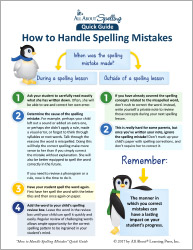 How to Handle Spelling Mistakes