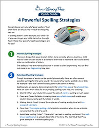 4 Spelling Strategies You Won't Want to Miss