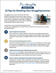 10 Tips for Reaching Your Struggling Learner